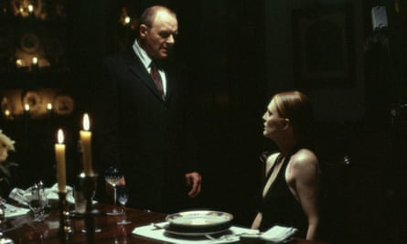 Fostering a relationship … Anthony Hopkins and Julianne Moore in Hannibal.