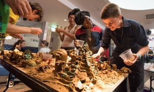 Clay workshop at Momentum's The World Transformed programme