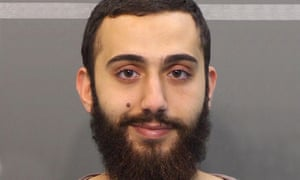 Mohammad Youssuf Adbulazeez, pictured at the time of his arrest in April 2015 for a traffic offense in Chattanooga.