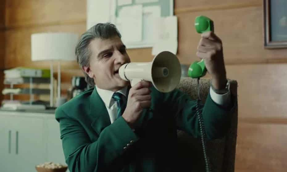 Paddy Power's 'Complaints Line' advert on TV.