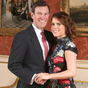 Princess Eugenie and Jack Brooksbank.