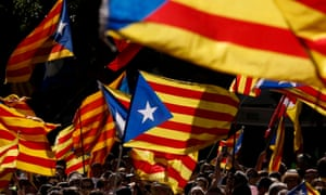 Flags, passion and anger: reporting from a divided Spain