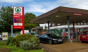 Fuel was available at the Murco petrol station in Datchet, Berkshire today., but limited to a maximum of 20 litres per customer.