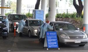 Coronavirus testing in Melbourne