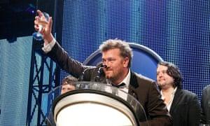 Elbow toast their 2008 Mercury win