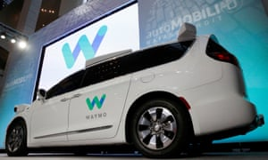 Waymo's self-driving Chrysler Pacifica minivan