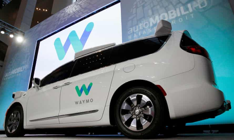 Waymo's self-driving Chrysler Pacifica minivan