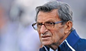 Joe Paterno, who died in 2012 of lung cancer, was the head coach of Penn State between 1966 and 2011.