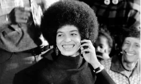 Angela Davis, pictured in 1970.
