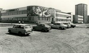 Josep Renau's mosaic in Erfurt