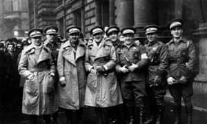 Members of a Scottish ambulance unit in Glasgow prepare to join the campaign in the  Spanish Civil War, in 1937