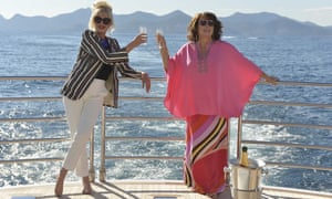 Joanna Lumley and Jennifer Saunders in Absolutely Fabulous - The Movie