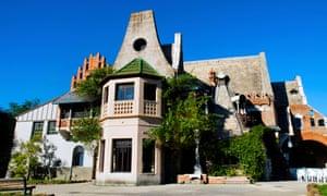 Casa delle Civette, in Villa Torlonia park.