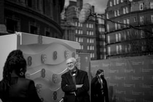 Jonathan Pryce waits to present the best director award