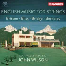 English Music for Strings Sinfonia of London/John Wilson (Chandos)