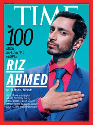 Riz Ahmed on the cover of Time Magazine 1 May 2017