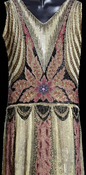 A detail of mid-20s dress