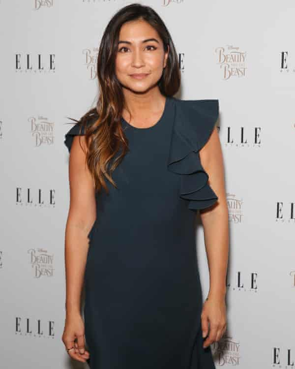 Justine Cullen arrives at an Elle Australia event in 2017