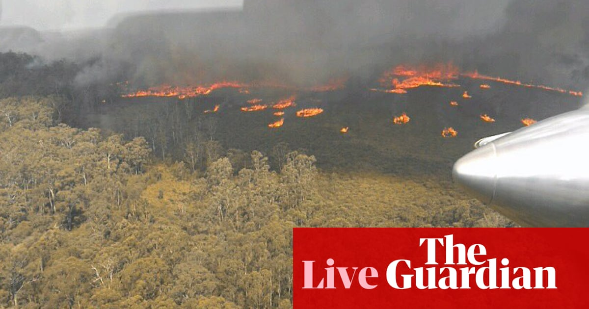 843 - Victoria fires live: 10 emergency warnings in place for Victorian bushfires – latest | Australia news