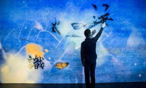 'Like being inside a painting' … What a Loving and Beautiful World by teamLab.