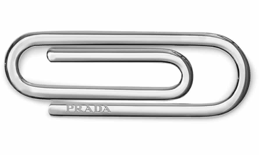 The Prada paperclip … you want one, don't you?