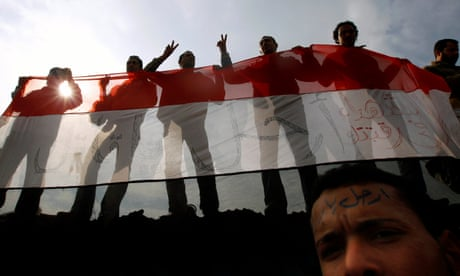 Egyptian students told to respect the flag or risk a year in prison