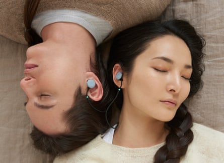 The future is soft-knits … earphones in the Google Home range.