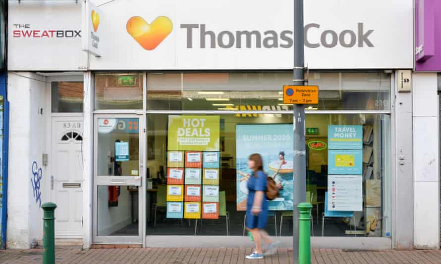 A branch of Thomas Cook