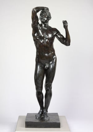 The Age of Bronze by Auguste Rodin.