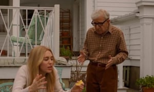 Woody Allen and Miley Cyrus in Crisis in Six Scenes.