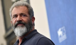Mel Gibson is at the Venice film festival with his new film Hacksaw Ridge.
