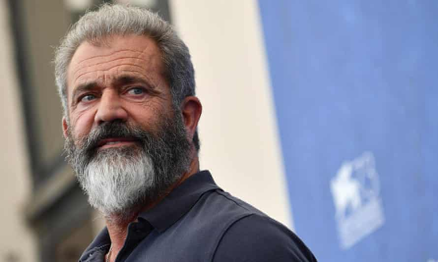 Mel Gibson at this year's Venice film festival.