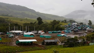 The Mariana Paez demobilization zone, one of many rural camps where Farc fighters are making their transition to civilian life.
