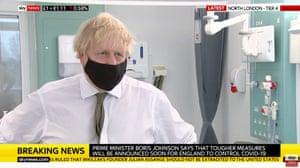 Boris Johnson interviewed on Sky News