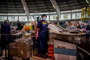 Lisbon, Portugal: Emilia Lomba, fishmonger