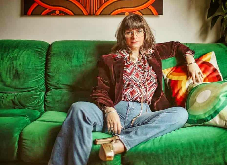 Estelle Bilson at home in Manchester