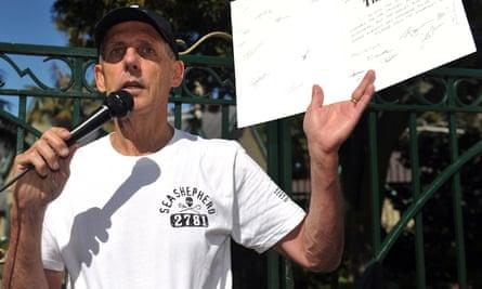 Former Greens Senator, Bob Brown