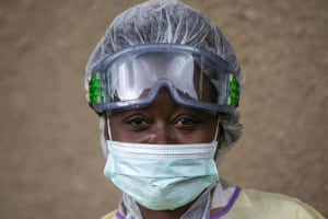 Mwamini has been a nurse for almost 20 years and decided to join the Ebola responders team a month ago when the virus spread to her community. In the village of Mataba, near Kalunguta, the community had traditionally been opposed to the Ebola response. In the past few days, the confirmation of 6 cases there have helped the community flock to the vaccination station where Mwamini works.