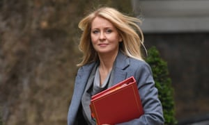 Former work and pensions secretary Esther McVey