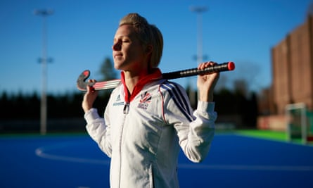 Alex Danson at Bisham Abbey. 'Winning a bronze medal at London in 2012 was crucial, it made us even hungrier'.