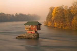 Drina River, near Bajina Drina River, near Bajina Bašta, Serbia