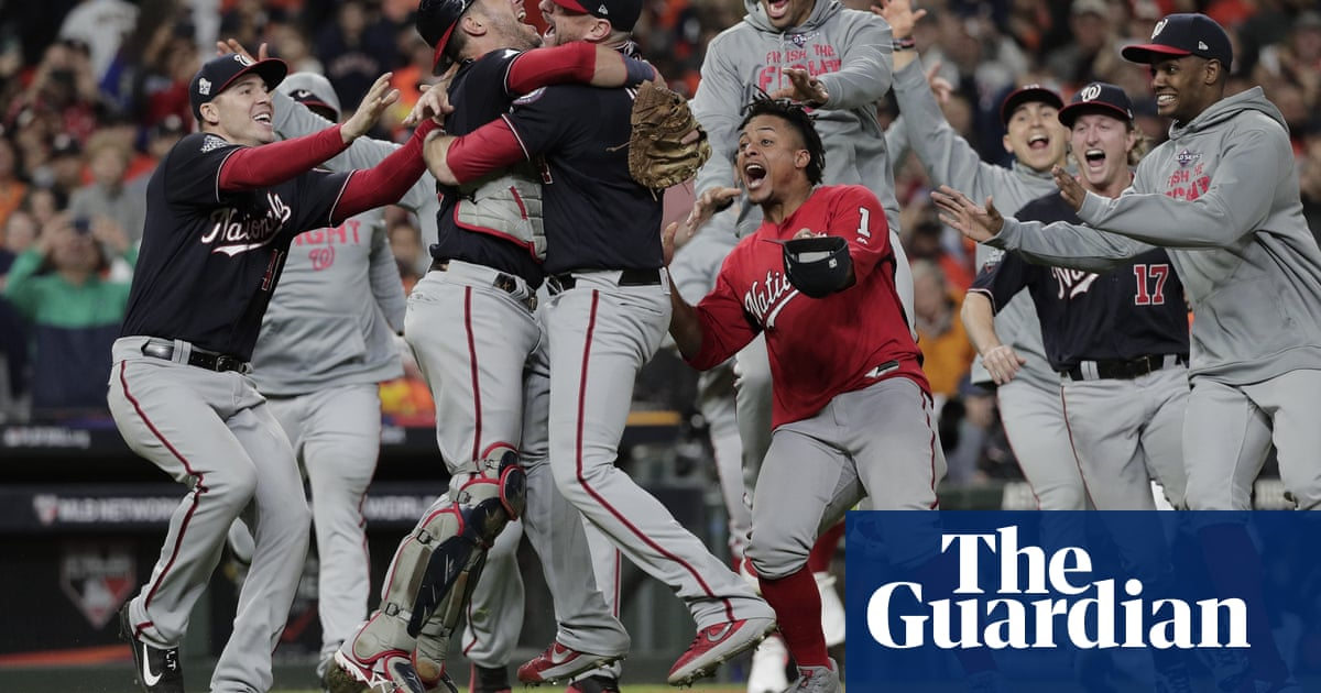 Nationals erupt late in Game 7 thriller to stun Astros for first World Series crown