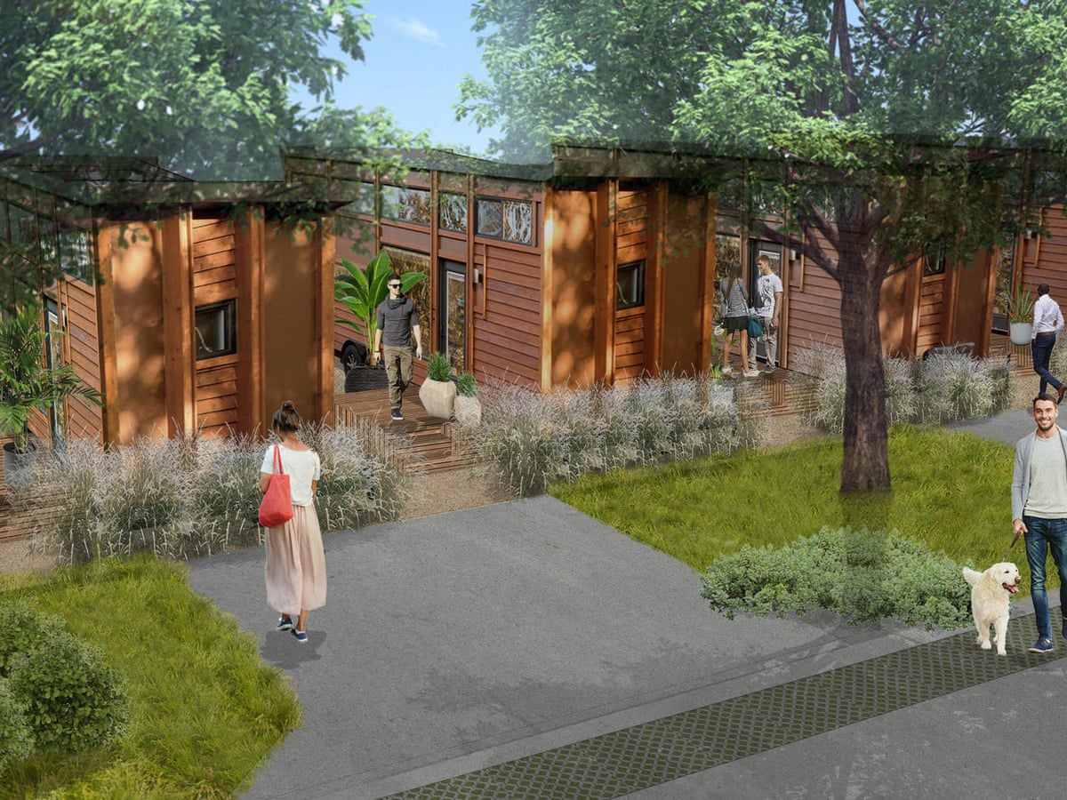 Tiny Home Communities Housing Solution Or Gentrified Trailer Parks Cities The Guardian