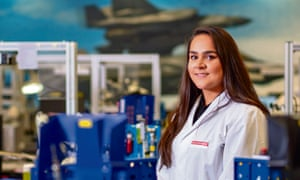 Billie Sequeira, technical apprentice at BAE systems