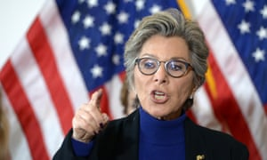 Former senator Barbara Boxer: 'This is about power.'
