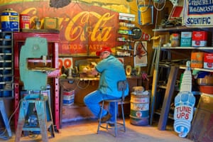 Matt Henry photograph of man in workshop