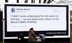 Dominic Raab tweet: 'I hadn't quite understood the full extent of this but … we are particularly reliant on the Dover-Calais crossing'