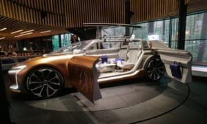 The Renault Symbioz electric concept car.