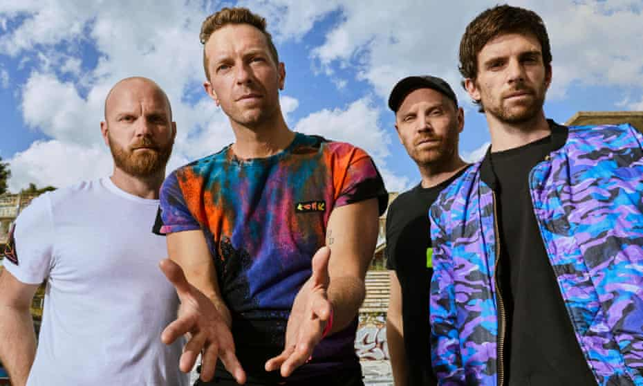 Coldplay, heading on tour sustainably in 2022.