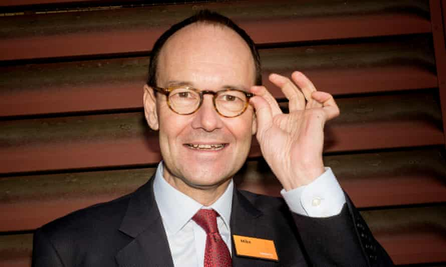 CEO of Sainsbury's Mike Coupe